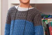 crochet + knit for boys