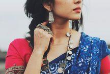 classic cotton look in saree