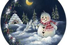 DECOUPAGE CHRISTMAS PICTURES / Новогодние картинки