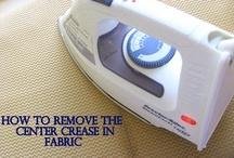 Ironing & Vinegar tips