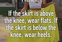 My rules of fashion
