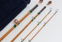 Bamboo rods made /  Flyrods