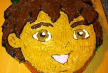 Diego Birthday Cake / My nephew Exodus' 1st Birthday Cake.