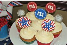<< Patriotic Food & Crafts >> / Fun crafts and delicious food perfect Patriotic holidays!  Email jugglingactmama@gmail.com for an invitation to pin to this board. Please include board name.