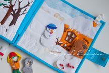 Nándi textilek -Évszakok - Tél