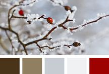 christmast color pallete