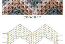 Háčkované a pletené vzory