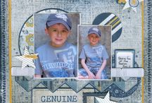 Scrapbooking - Sports Pages / by Judy Weaver