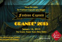 Fashion Capsule - Grande' 2015 / The seventh edition of the fashion and lifestyle shopping extravaganza organised by Mallika Jain - FASHION CAPSULE – GRANDE' at The Grand (Ballroom), Vasant Kunj, New Delhi on January 16, 2015.