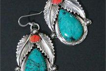 Gemstone jewelry items