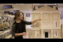 Harrods dolls house / At The Dolls House Emporium we have been building a rather special house – it's a Grosvenor Hall, especially designed as a centrepiece in Harrods new Toy Kingdom. / by Dolls House Emporium