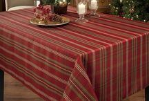 Pretty Table Clothes for Christmas / Decorating table is the art with right kind of table top and clothes, because especially in festive time, we love to take more importance in decorating Christmas table.