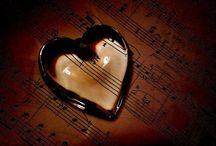 ハートと楽譜