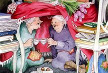 Artist ~ Inge Look ~ old people