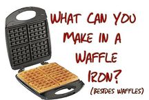 Food: waffle iron recipes