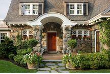 Home Exteriors & House Plans