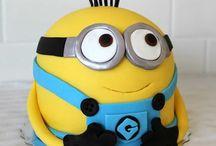 Dečije torte Despicable me / Ideje za dečije torte za rođendan sa junacima Minions www.pocoloco.rs