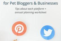 Pet Blogger Resources
