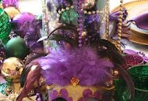 Mardi Gras Party / Celebrate a Mardi Gras party at your home with these decorating ideas / by Treetopia Christmas Trees