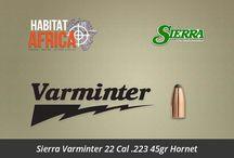 Bullets / Habitat Africa offers a wide range of bullets for hunting rifles, handguns, shotguns and air rifles including Hornady, Lapua, Sako, Norma and Nosler Bullets