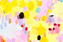 Paint daubs