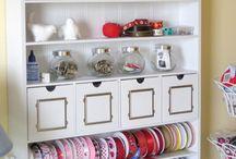 craft room ideas & diy / by Honesty Noyce
