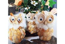 Around MBTP. If you missed out on our Owl Sea Shell craft yesterday, have no fear! Debby will be back after the holidays to get things rolling with jingle shell roses!