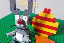 Lego e Playmobil- Ideias e DIYs