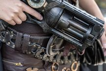 steampunk weapon