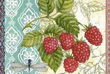 owoce serwetki