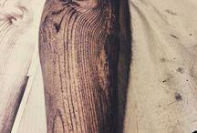 Wood tattoo