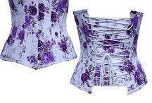 Floral Print Corset / Printed Corset, Flower print corset, color corset, printed overbust corset, printed underbust corset