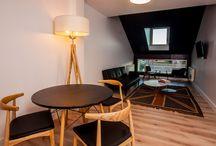 APARTAMENTOS / Apartamentos de 60 metros cuadrados con 2 habitaciones, baño, salón y cocina, decoración de diseño para el disfrute y confort.