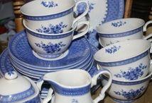 Blått og hvitt - blue snd white