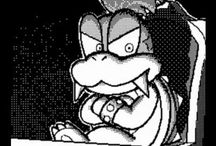 Y Dash Flipnote Mario Screenshot Larry Koopa