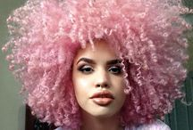 Natural Hair Color Inspiration / Check out our blog at https://www.kikacurls.com/blogs/kikas-blog/how-to-dye-your-natural-hair-this-summer-without-damaging-it
