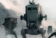 Hoth / Research for a top secret commissioned painting!