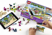 LEGO Resort Designer / Part of the LEGO Fusion category, this set comes with 263 bricks and a special reader image that hand-held devices can convert into 3D images to interact, move and build more; see more info at http://heartlaketimes.blogspot.com/2014/06/lego-fusion-and-friends-resort-designer.html