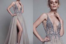Split prom dresses