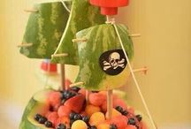 Fairy and pirate food
