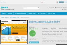 Digital Download Script / Digital download PHP script allows you to offer products for sale that are available as an immediate download.