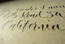 lettering / by Amber Glanville
