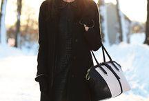 Winter girly fashion