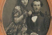 Civil War era couples