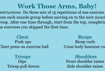 Fitness-Upper Body / by Michele Rhoades