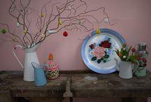 Pasen / Lente / Paasdecoraties, sfeerbeelden en inspiratie.