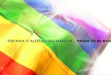 Stefania d'alessandro make-up _ proud to be myself /  the rainbow flag A page of great importance for me and Stefania D'Alessandro, born to arrange beautiful and unique events and above all with the aim to promote an important message:    Fight against homophobia, our commitment against social discrimination, whatever they are! (with news, photos, videos, thoughts, info etc.) The contest of the year 2012 has been a great success, in a few months has involved over 700.000 people with 23,672 total voters at the close of voting.