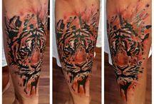 Mine tattoos