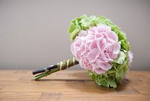Pastel and Hydrangeas / wedding theme using hydrangeas and rustic details