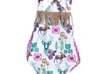 Creek Baby Co Rompers